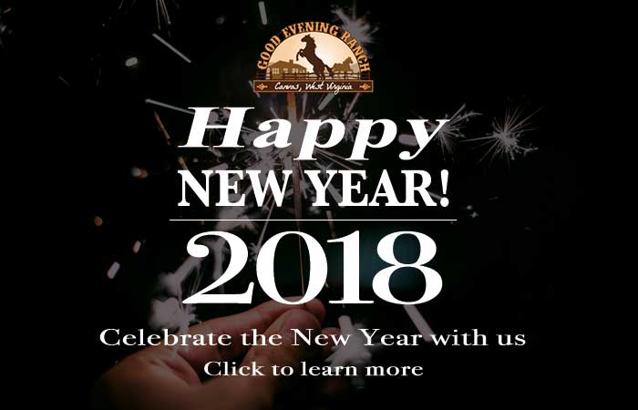 Celebrate New Year's 2018 at Good Evening Ranch